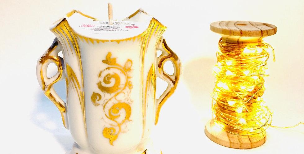 Bougie petit vase de sacristie