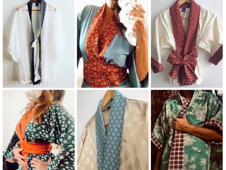 Le 10 octobre, notre événement Kimonos sur mesure, Shiatsu et Bougies végan...