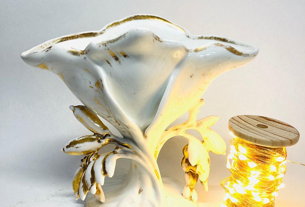 Bougie Vase de Mariée fleur