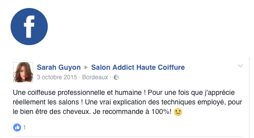 Avis 14 : Facebook