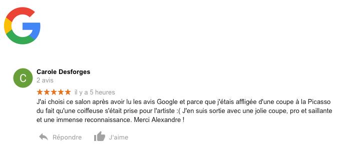 Avis 50 : Google
