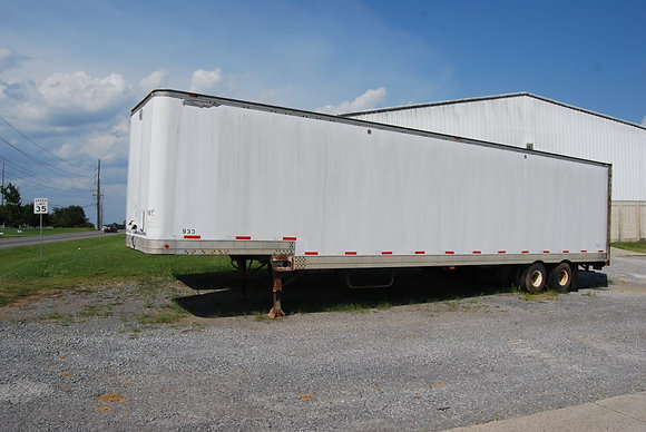 Great Dane 45' Step Dec Van Trailer W/ Side Doors
