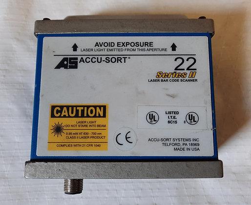 Accu-Sort 22 Series II. Laser Bar Code Scanner