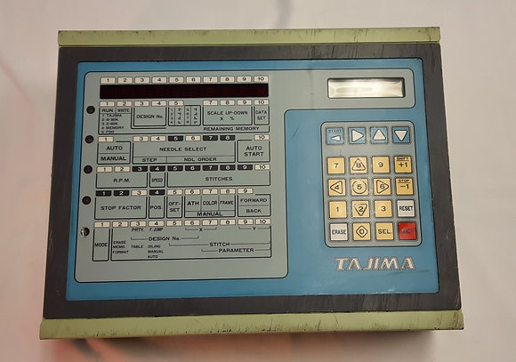 Tajima ED5100A00000 Control Box from TME-DC912 with Boards and Floppy Drive