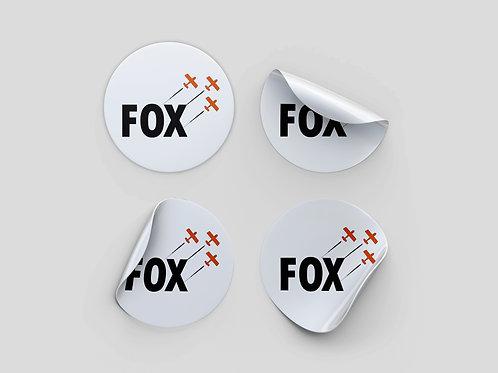 Adesivo FOX