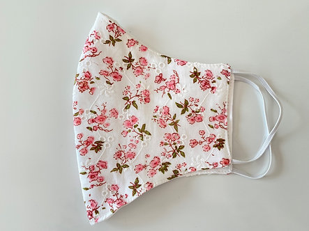 Limited Run Textured Floral Face Mask
