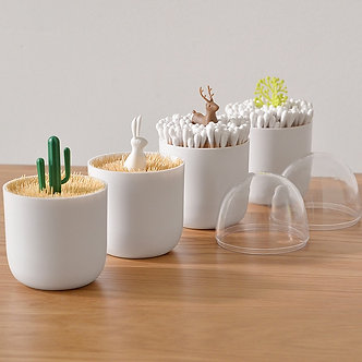 Creative Portable Toothpick Box Toothpick Holder Home Living Room