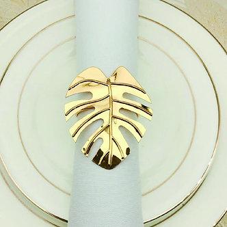 Leaf Napkin Ring Set