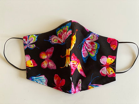 Limited Edition Ladies Black with butterfly pattern