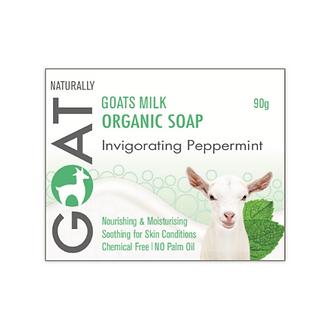Goat Milk Soap - Invigorating Peppermint