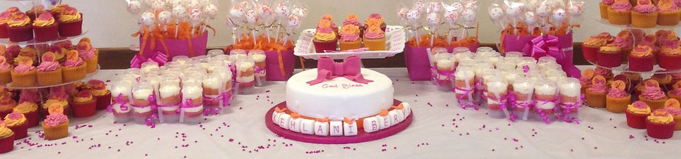 Lanana cup cakes, pushup cakes and cakes pops