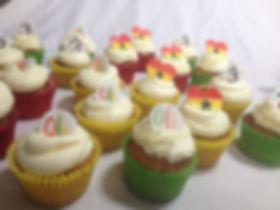 Lanana cupcakes