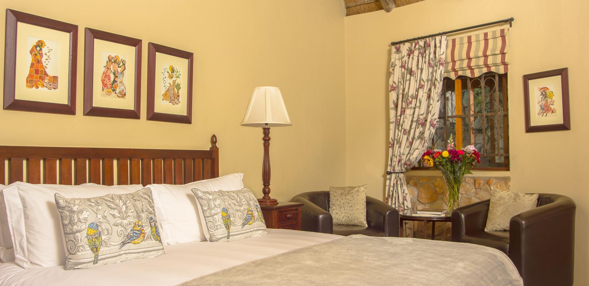 Aloe Cottage bedroom