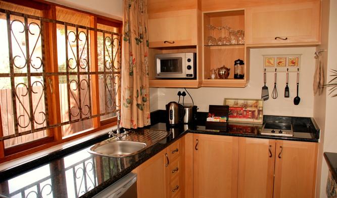 Protea apartment kitchen
