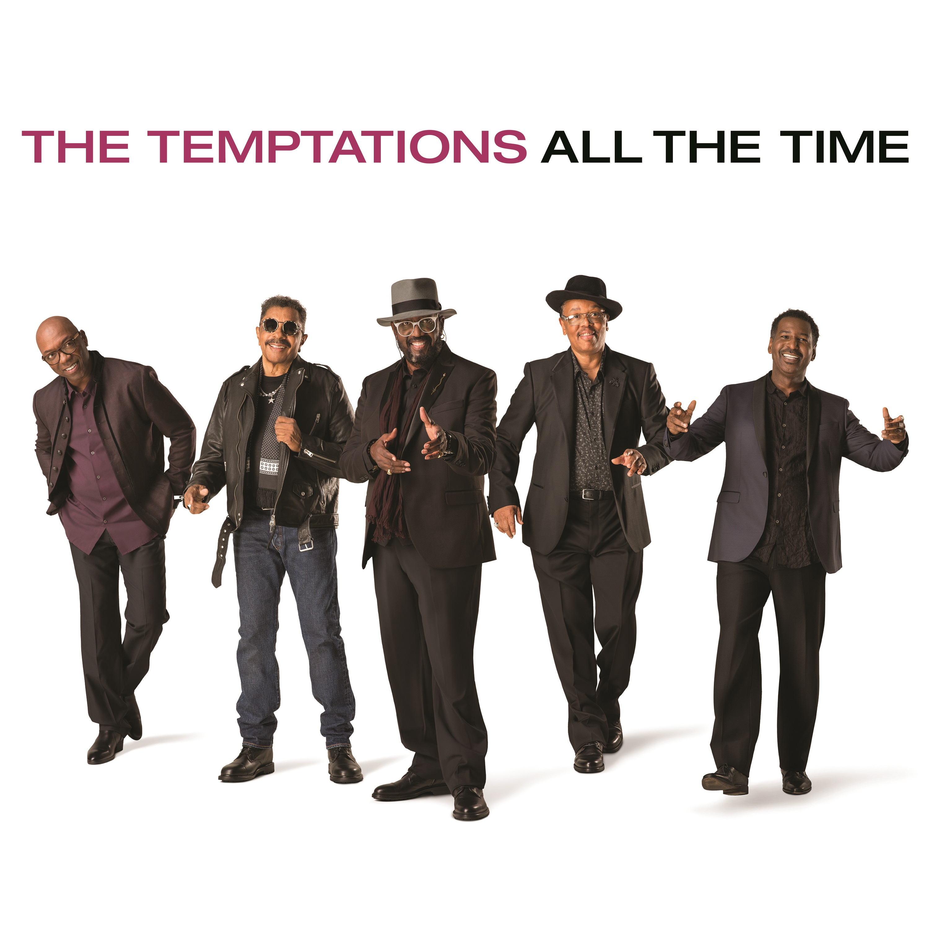 Temptations-All The Time Cover Art Work May 2018