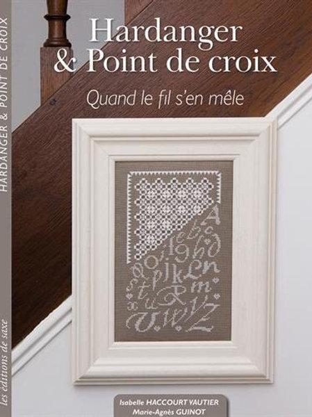 Hardanger & point de croix ( книга)