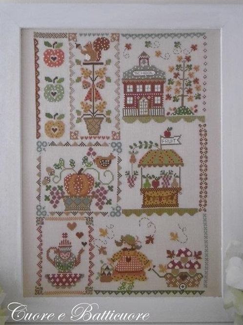 Autumn in Quilt (схема)