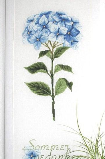 Hortensienstiel BLAU (схема)