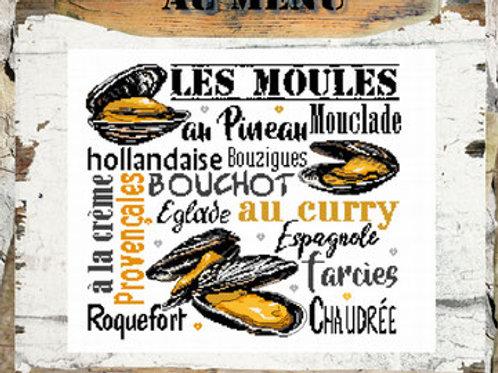 Les Moules (схема)