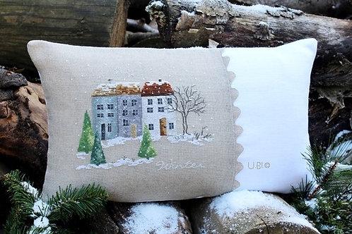 Ein Dorf im Winter (схема)