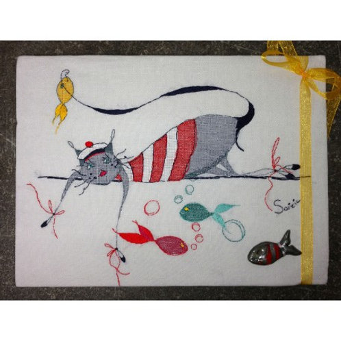 Le chat p'tit mousse (схема)