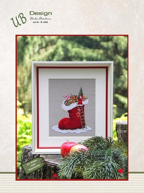 """""""Ein Stiefel voller Geschenke""""( схема)"""