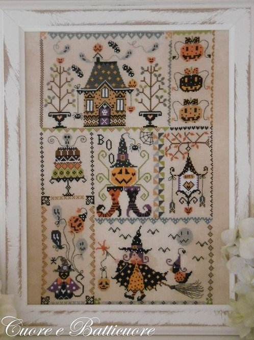 Halloween in Quilt (схема)