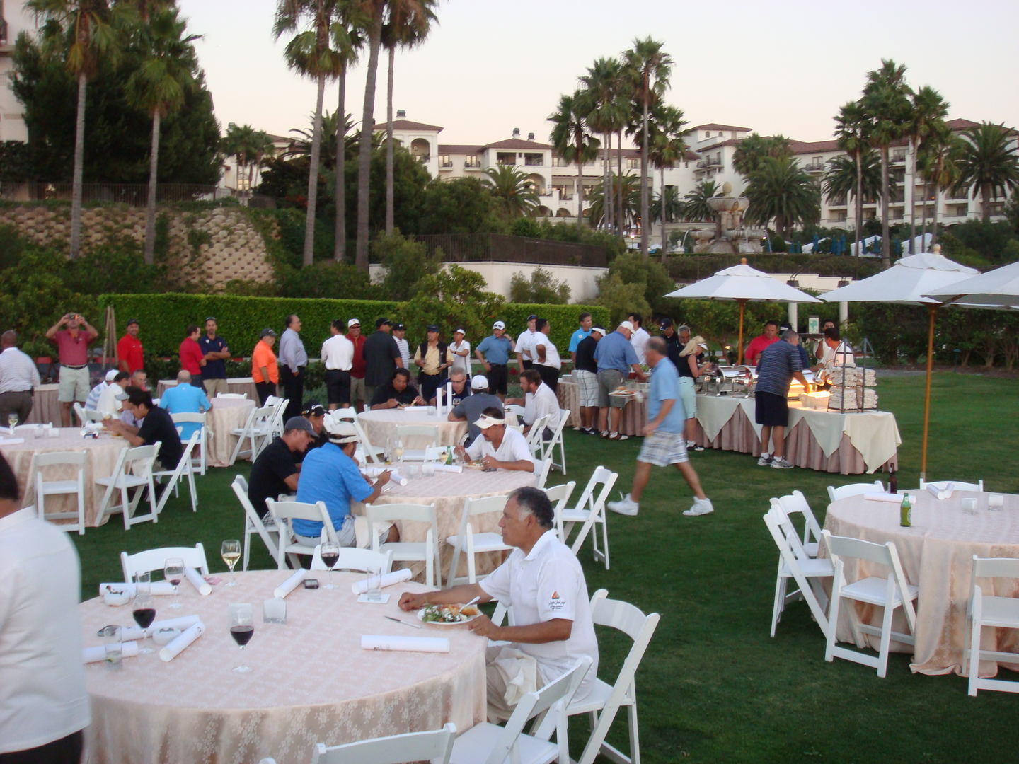 Golf Tournament Reception
