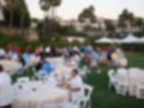 Golf Tournament Reception