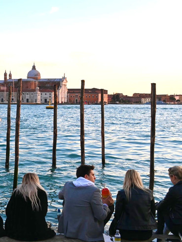 By the water in Venice