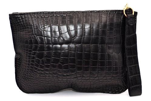 Black Flat Wallet XL