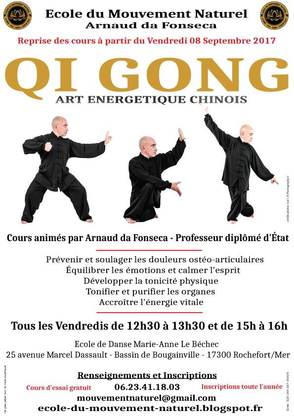 Qi Gong à Rochefort sur Mer