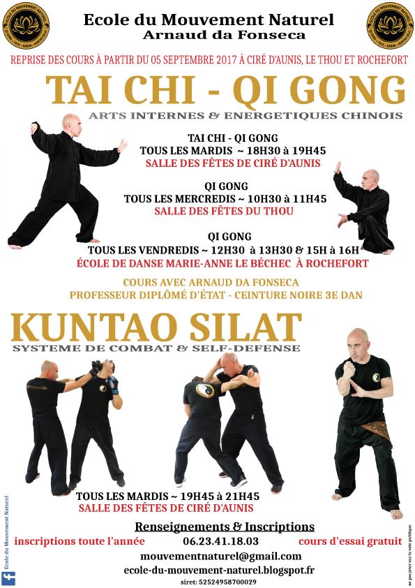 Tai Chi Chuan, Qi Gong & Kuntao Silat à Ciré d'Aunis, Le Thou et Rochefort