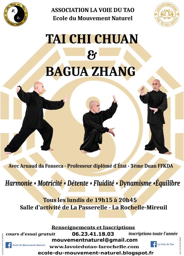 Cours de Tai Chi Chuan et Bagua Zhang à La Rochelle