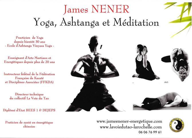 Affiche yoga pour la saison 2016-2017