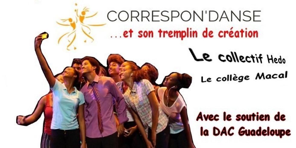 """""""Corps dans la Ville """" à St François"""
