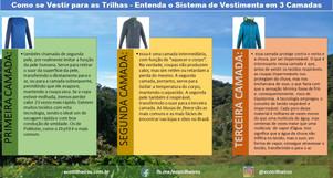 Como se Vestir para as Trilhas - Entenda o Sistema de Vestimenta em 3 Camadas