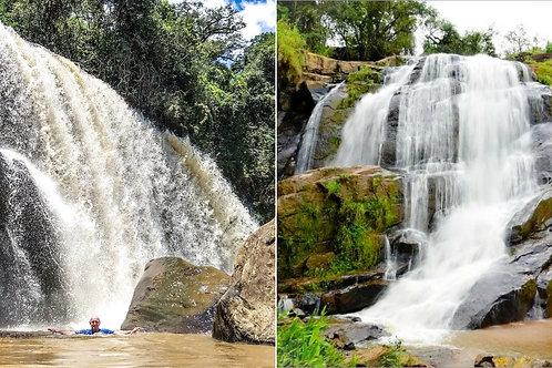 Cachoeiras do Felix e Machado - Bueno Brandão MG
