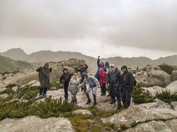 11 Parte da turma no cume da Pedra do Al