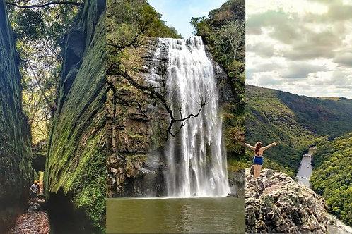 Cânion Guartelá, Fenda do Nick e Cachoeiras - Tibagi PR