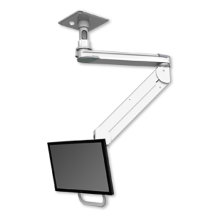 """ICW Titan Elite Ceiling LCD Mount - Quicklink with T2 Arm - 5"""" Down Pole"""