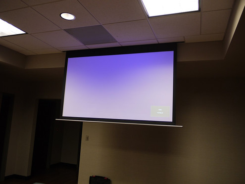 Projection Screen For Lounge