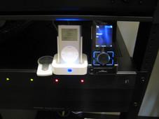 Ipod Music Control at Media Rack