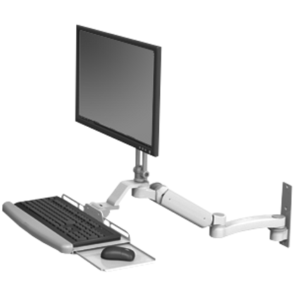 ICW Ultra 180 Arm with Flip Up Keyboard Tray