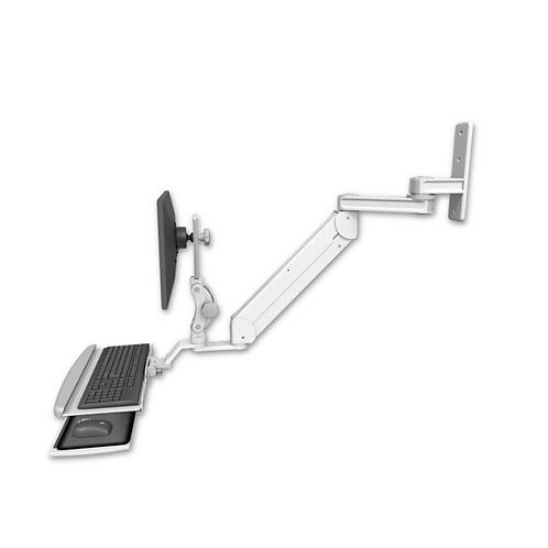"""ICW Titan Elite Paralink Wall Mount - 12"""" T2 Arm HDPE Paralink Keyboard"""