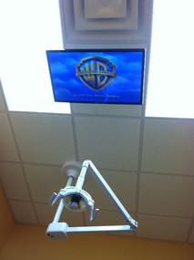 Overhead Mount for Reclining Patients