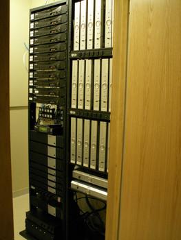 A/V & Network Server Room