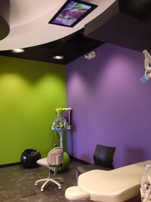 Overhead TV For Pediatric Dentistry
