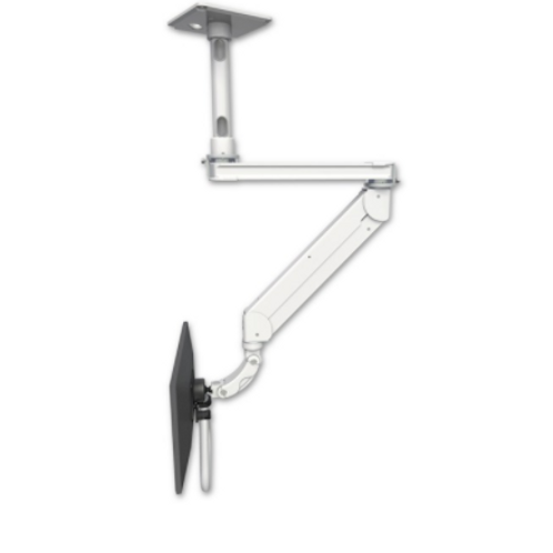 """ICW Titan Elite Ceiling LCD Mount - Quicklink With T2 Arm - 12"""" Down Pole"""