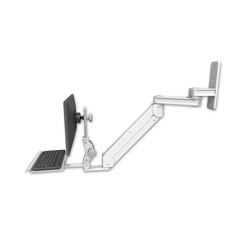 "ICW Titan Elite Paralink Wall Mount - 12"" T2 Arm with a 12"" Keyboard Tray"